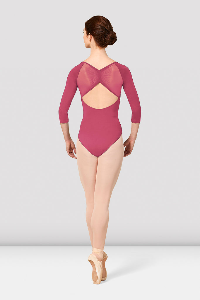 Ladies Mirella Vienna Three Quarter Sleeve Leotard