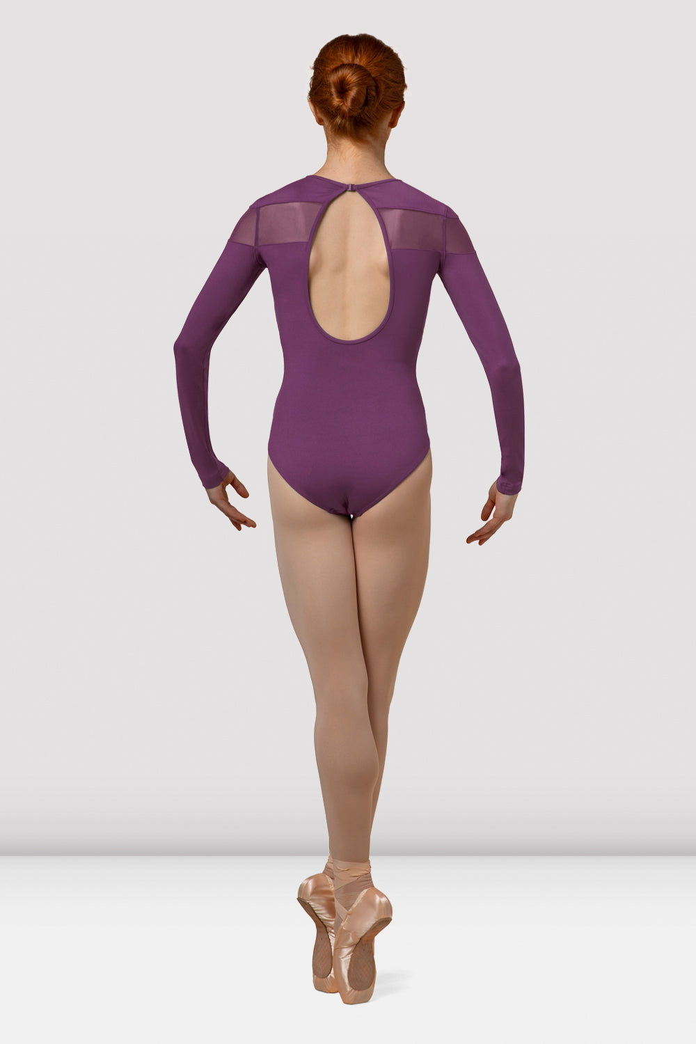 Ladies Mirella Boutique Long Sleeve Leotard