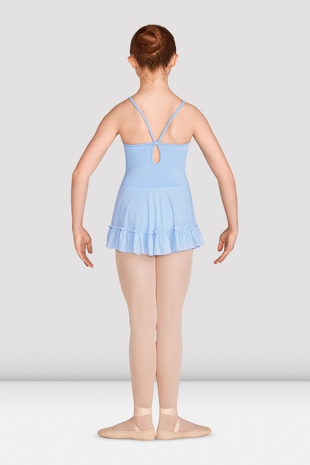 Girls Mirella Vienna Skirts V Back Leotard