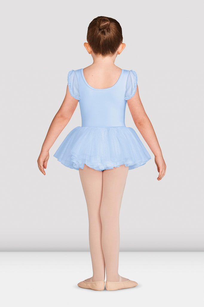 Girls Mirella Vienna Frill Sleeve Tutu Dress