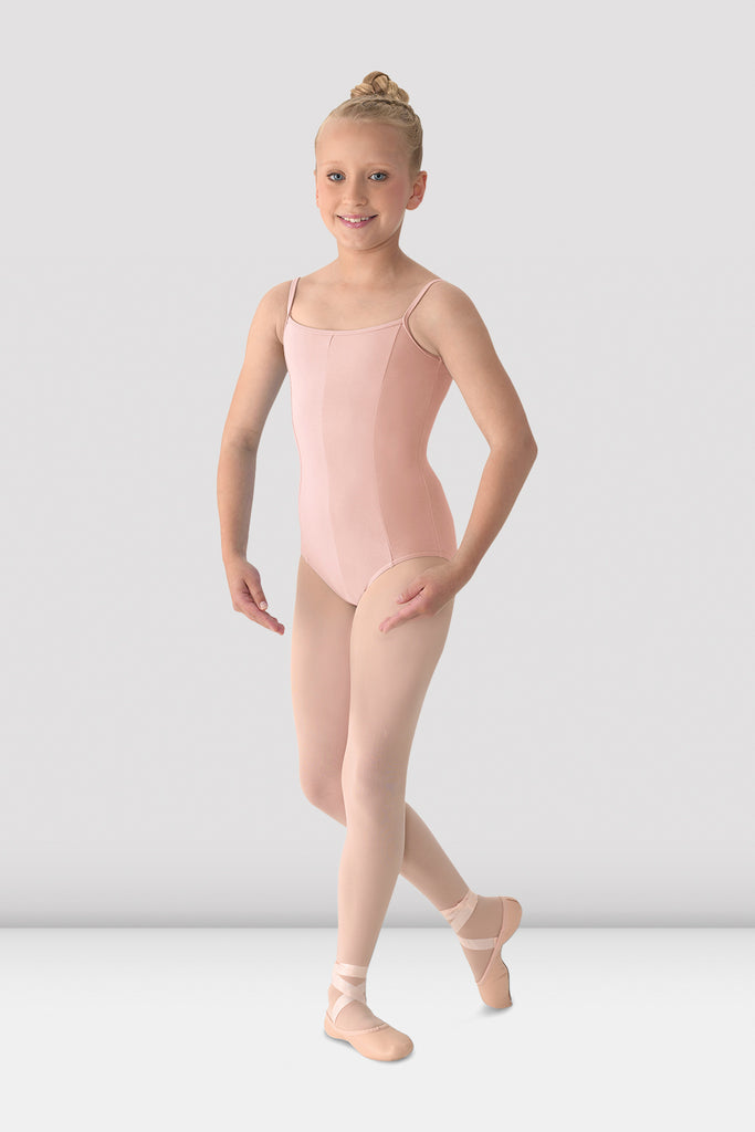 Girls Mirella Seamed Camisole Leotard