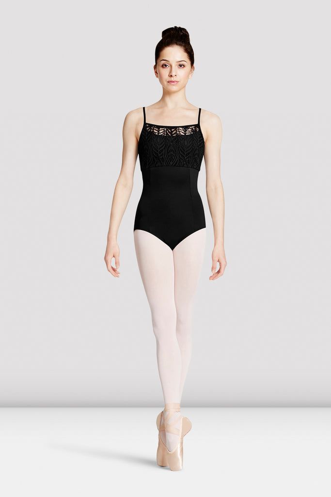 Ladies Mirella Peacock Lace Leotard