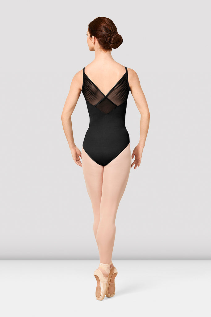 Ladies Mirella Vienna Mesh Back Camisole Leotard