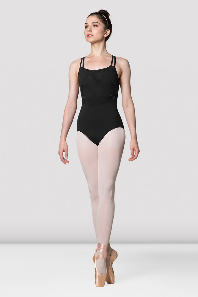Ladies Mirella Messina Double Strap Back Leotard