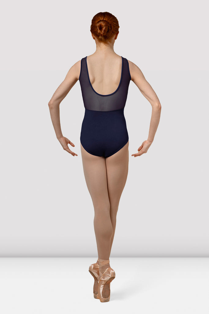 Ladies Mirella Splice Wrap Front Tank Leotard