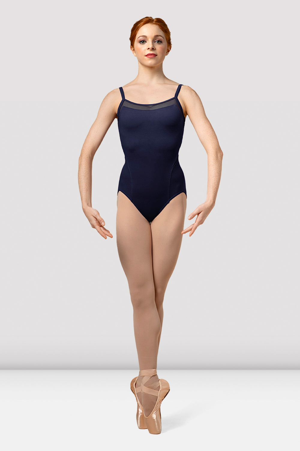 Ladies Mirella Splice Camisole Leotard
