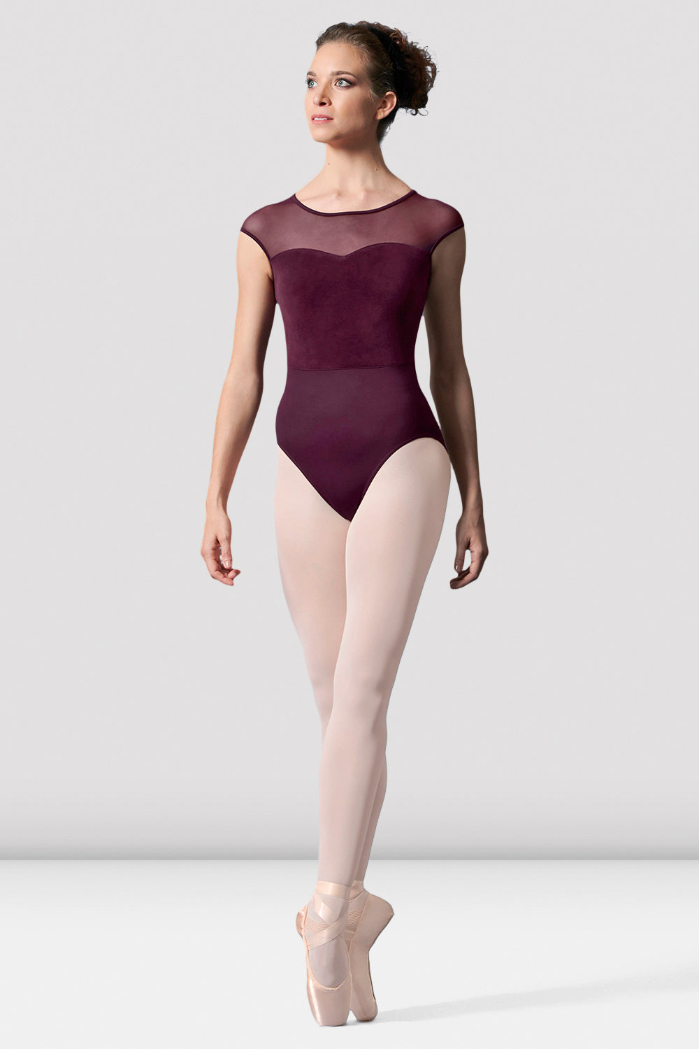 Ladies Mirella Cap Sleeve Sweetheart Leotard