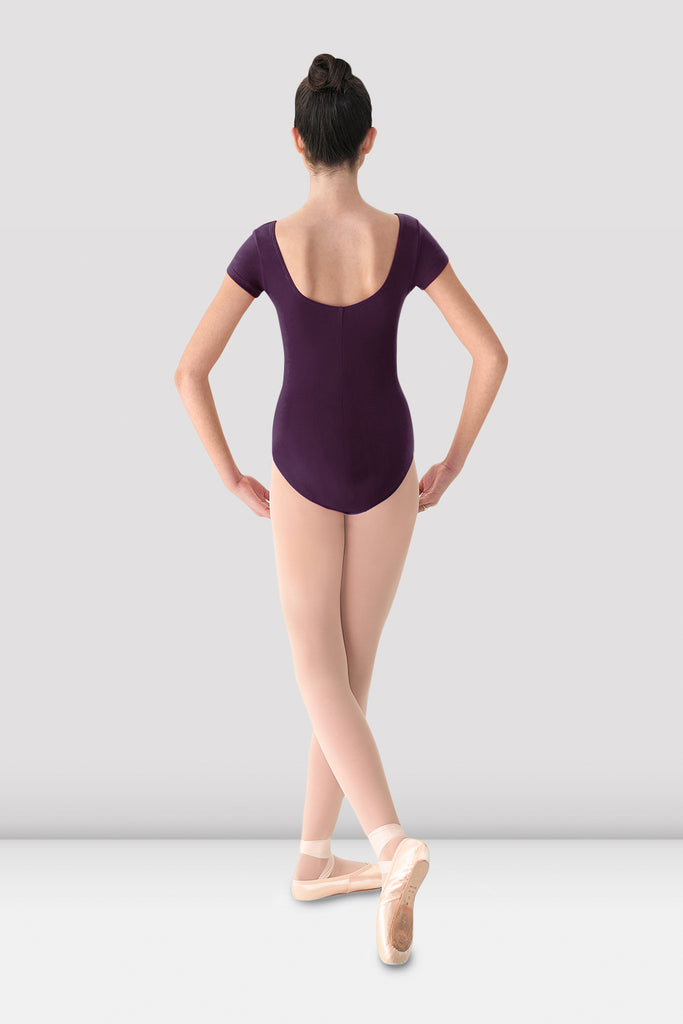 Ladies Mirella Cap Sleeve Leotard