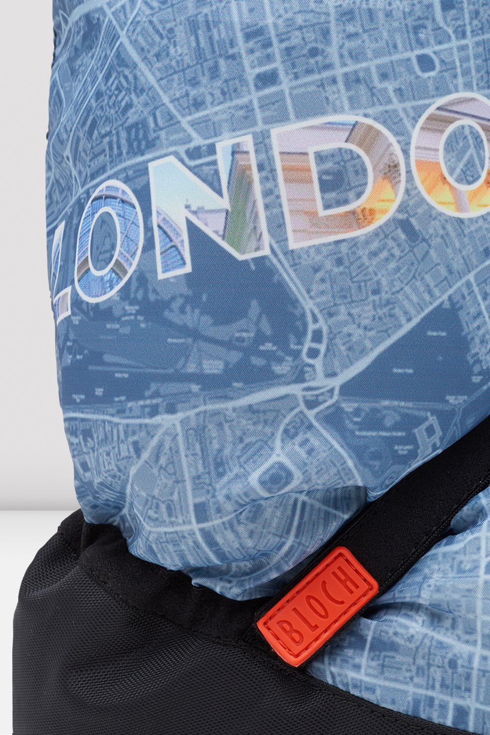 London City Map Multi-function Warm Up Booties