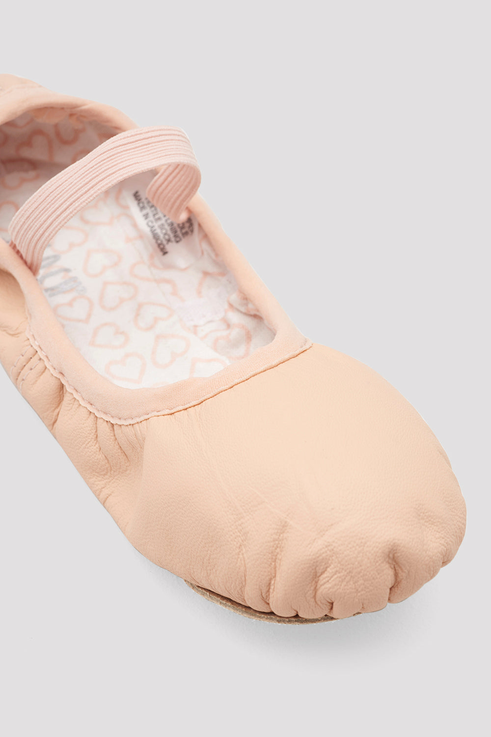 Girls Belle Leather Ballet Shoes