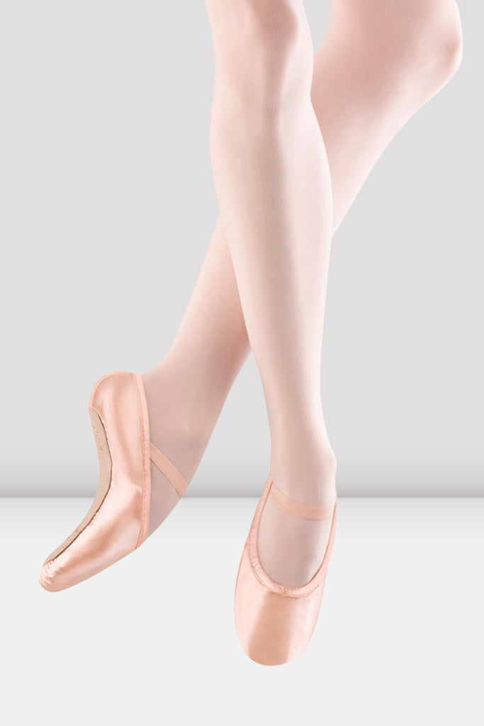 Ladies Stretch Satin Ballet Shoes