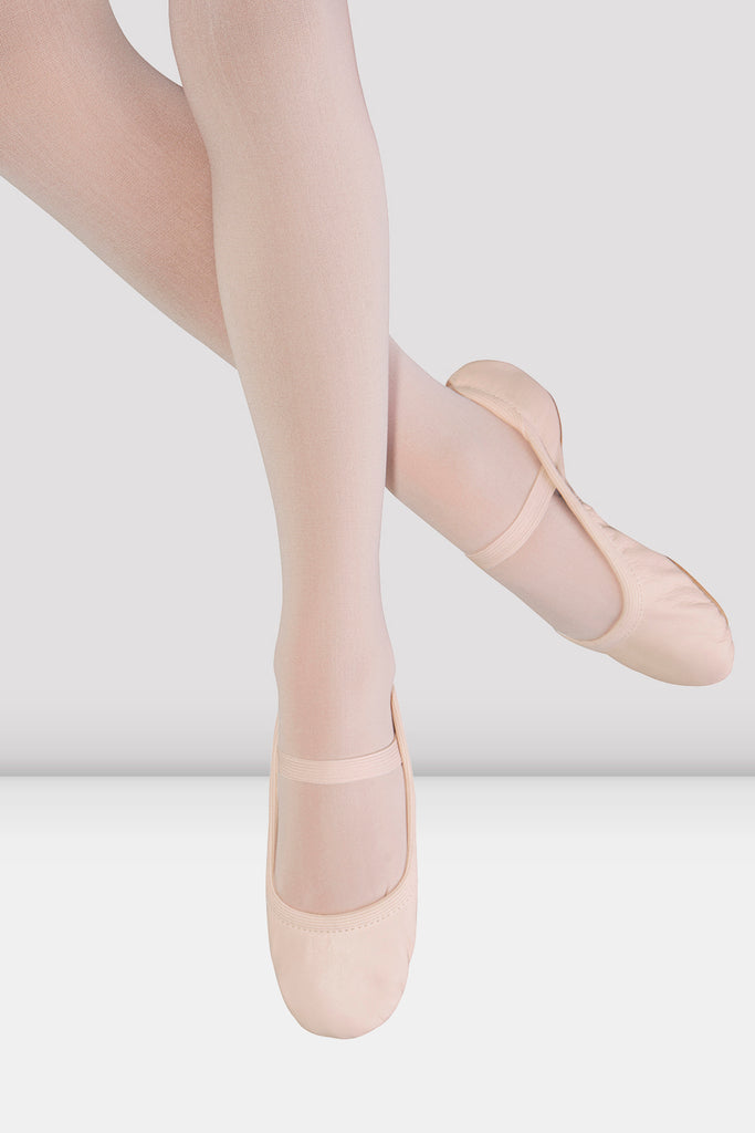 Girls Giselle Leather Ballet Shoes