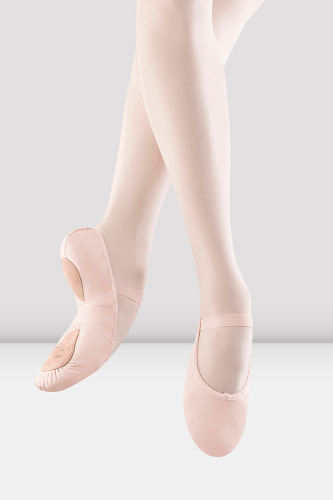 Girls Dansoft ll Split Sole Ballet Shoes