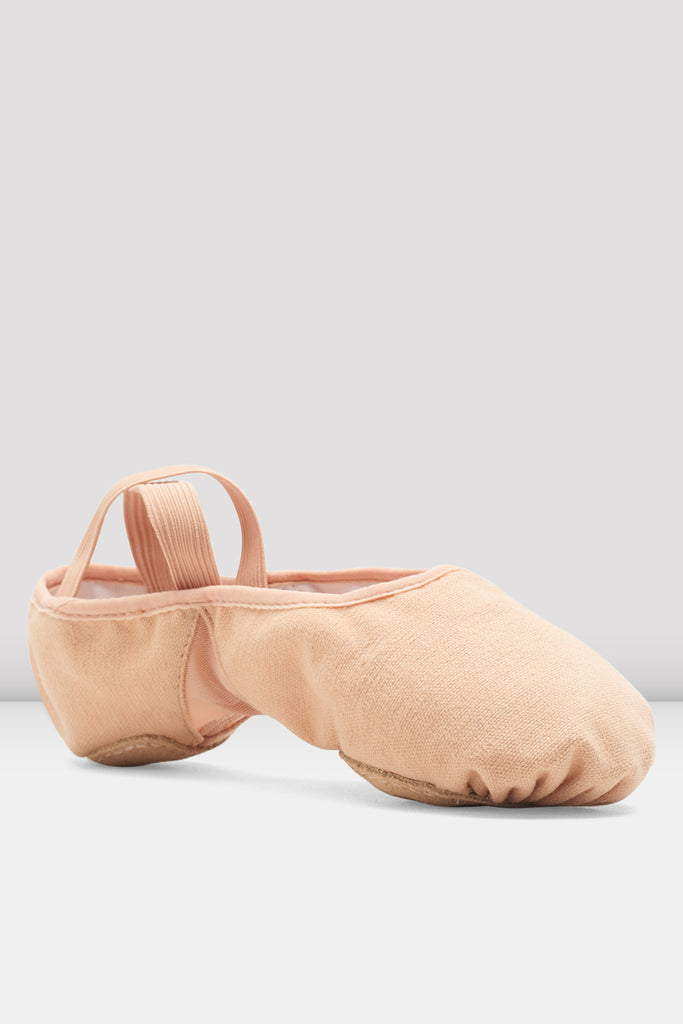 Ladies Pro Arch Canvas Ballet Shoes