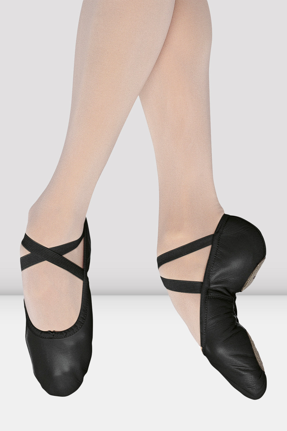 Ladies Pump Leather Ballet Shoes