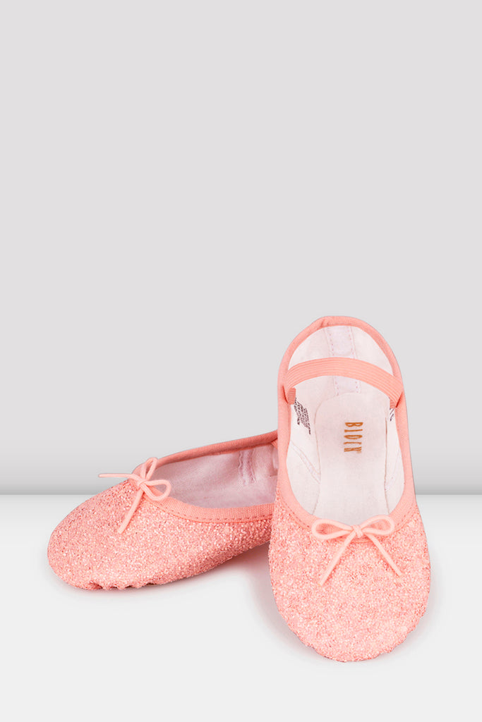 Girls Sparkle Ballet Shoes