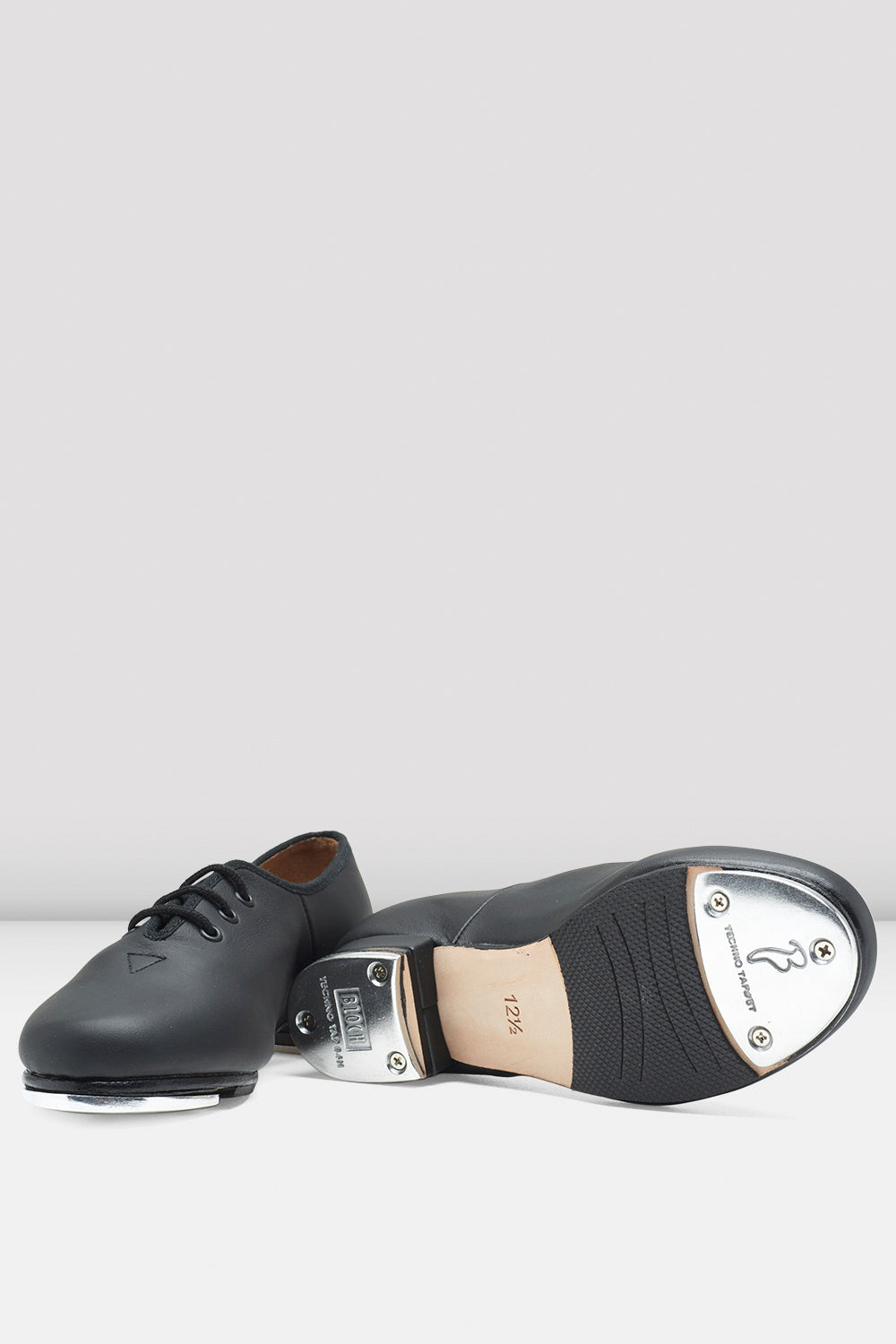Childrens Jazz Tap Leather Tap Shoes
