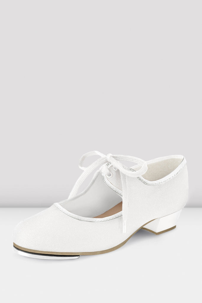 Ladies Marylin Tie-Up Canvas Tap Shoes