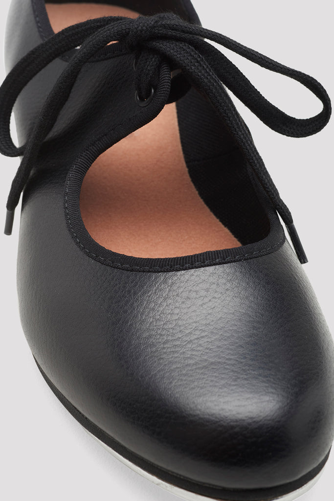 Ladies Shirley Tie-Up Tap Shoes