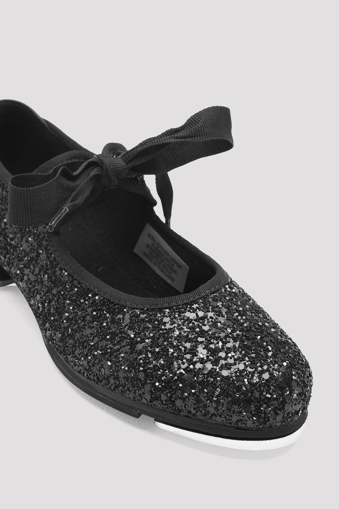 Girls Glitter Tap Shoes