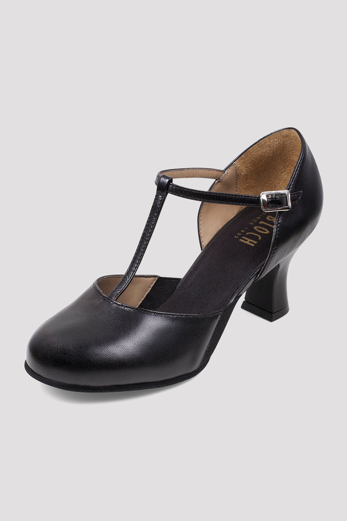 Ladies Split Flex Leather Character Shoes