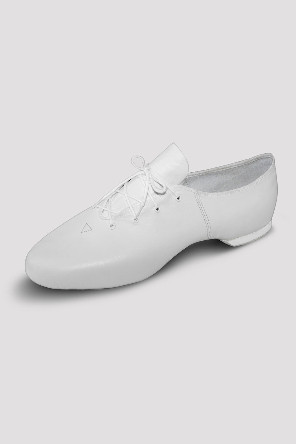 Mens Leather Jazz Shoes, White   BLOCH UK