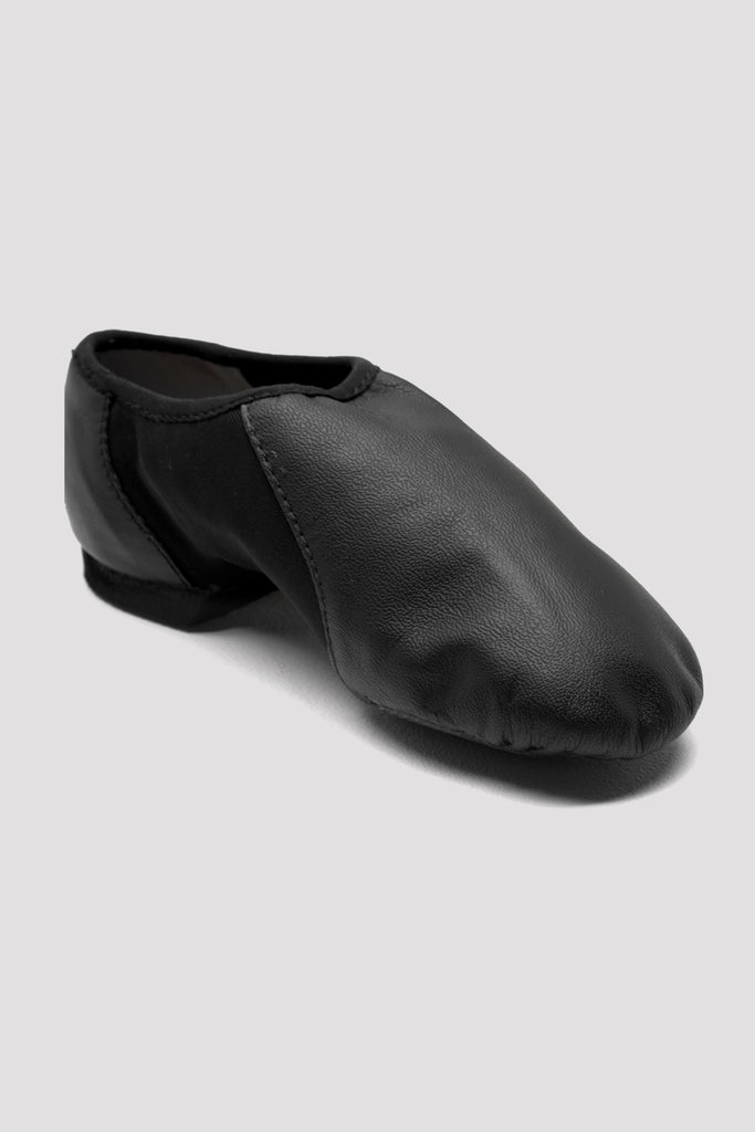 Girls Neo-Flex Slip On Leather Jazz Shoes