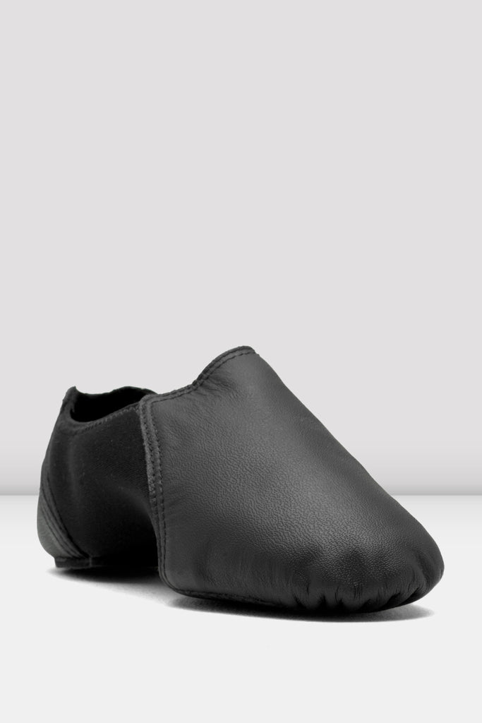 Girls Spark Leather & Neoprene Jazz Shoes