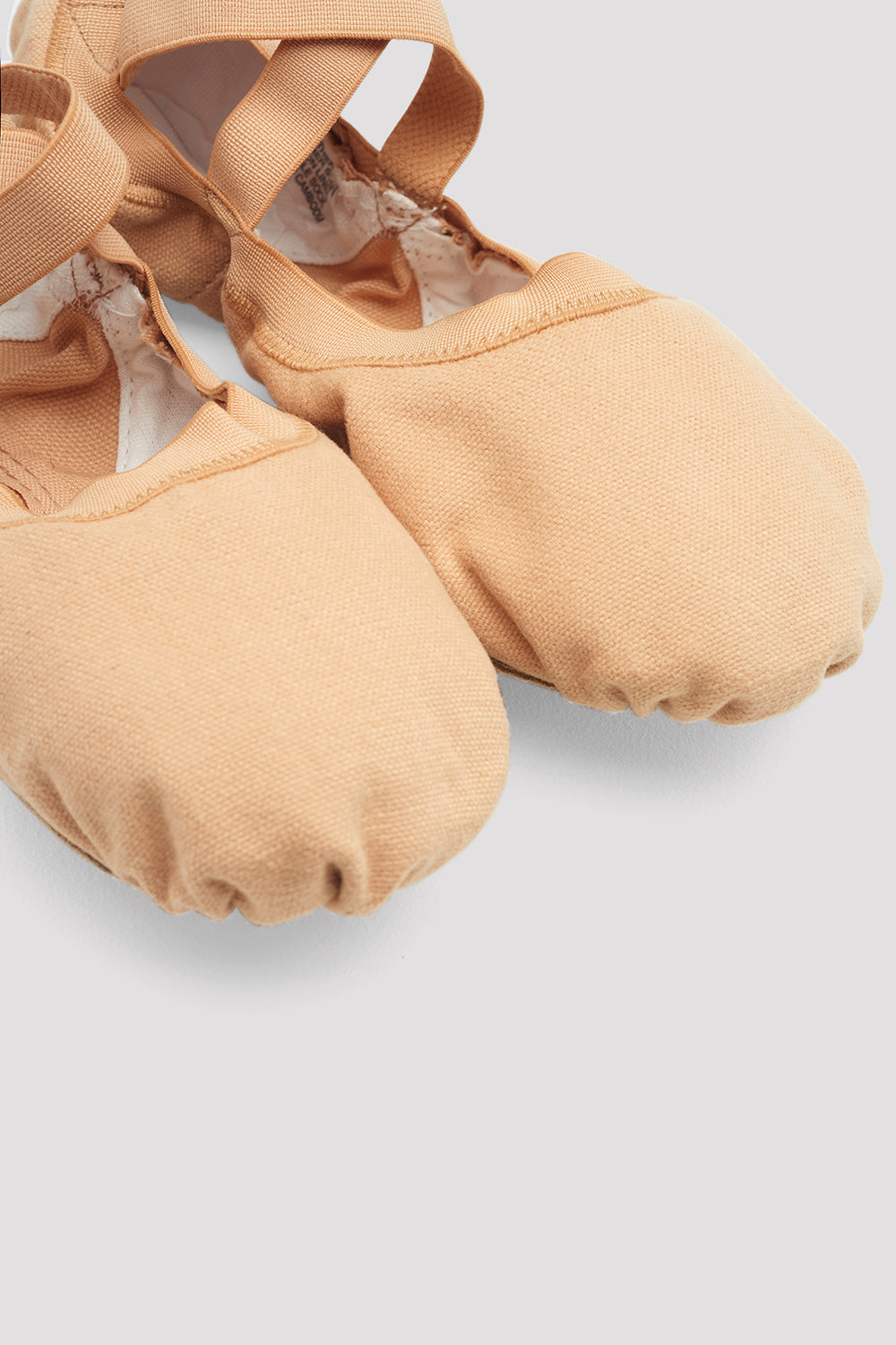 Ladies Pro Elastic Canvas Ballet Shoes