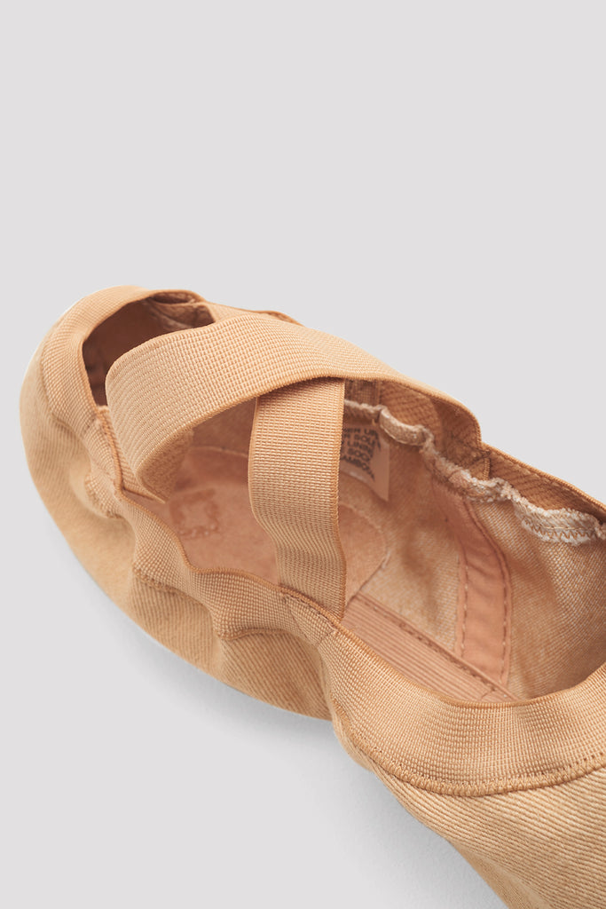 Ladies Synchrony Stretch Canvas Ballet Shoes