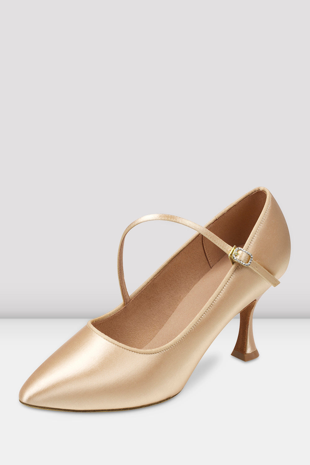 Ladies Charisse Satin Ballroom Shoes