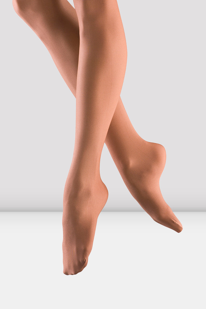Girls Shimmer Footed Tights