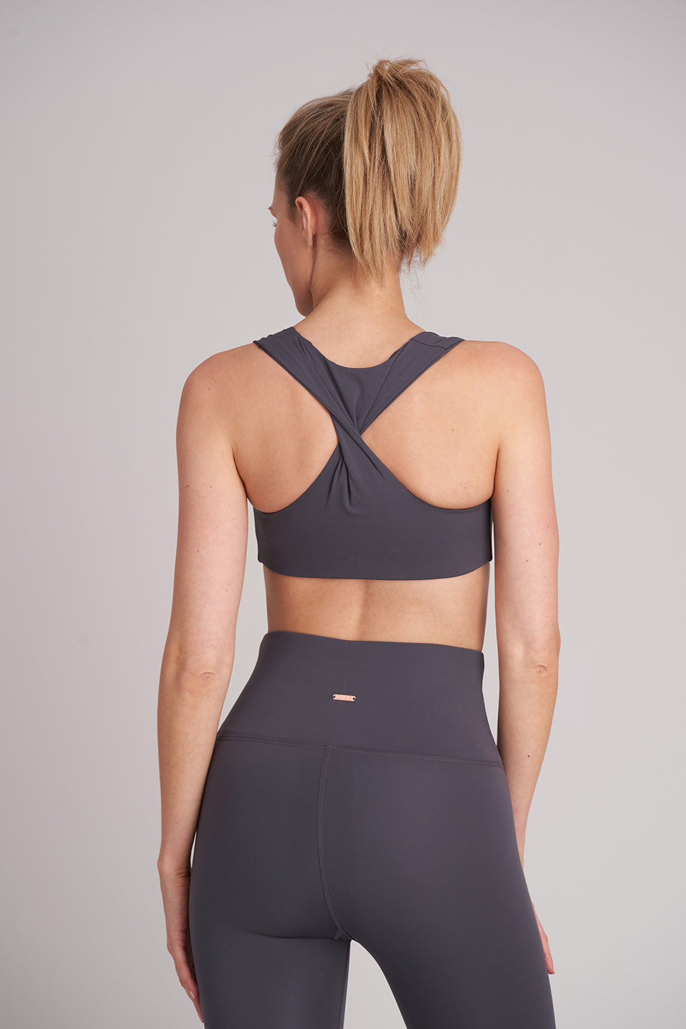 Zise Gigi Twist Back Crop Top