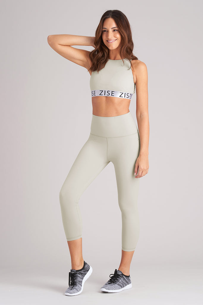 Zise Gigi Cross Back Crop Top