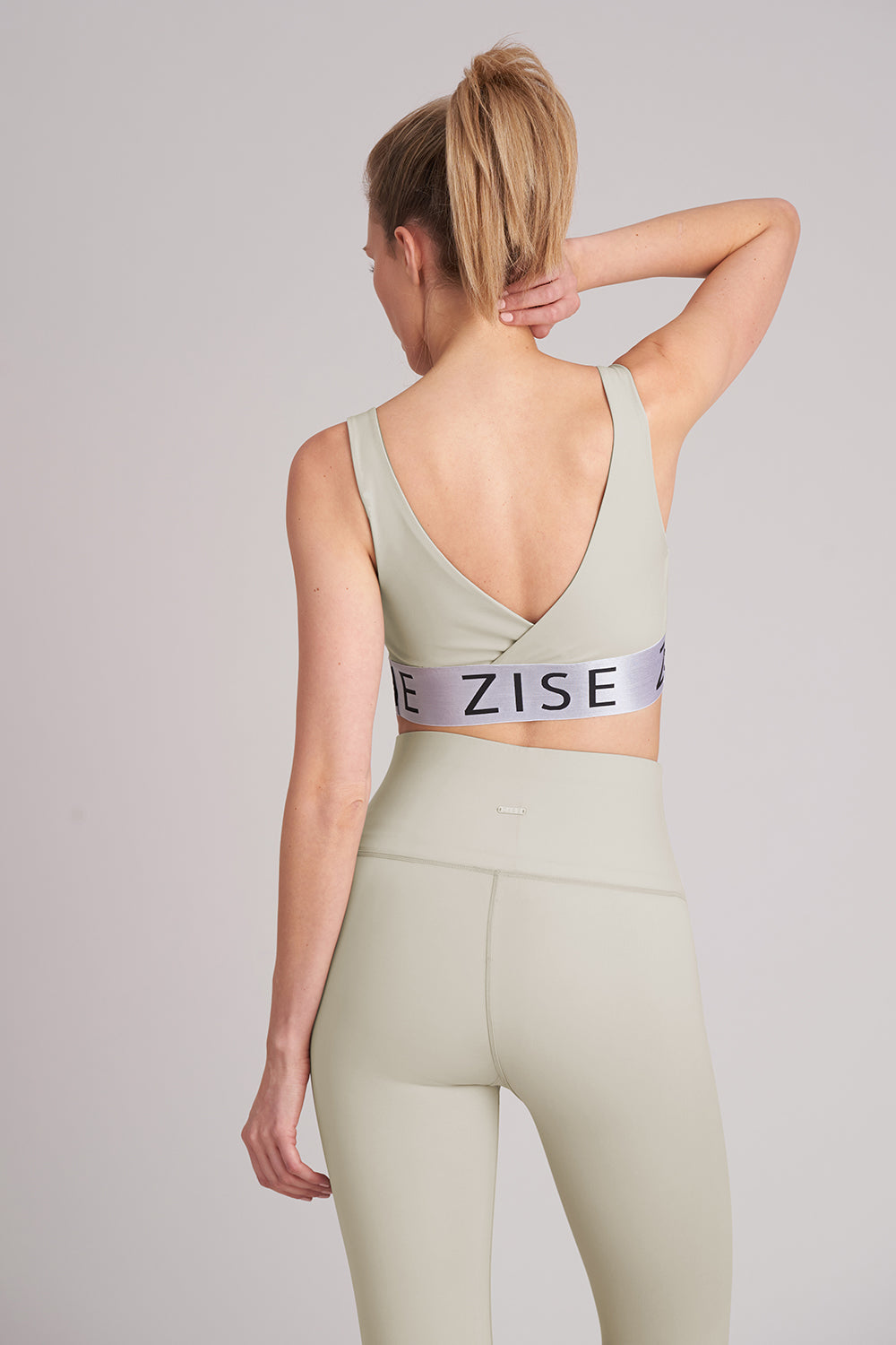 Zise Gigi Wide Band Crop Top