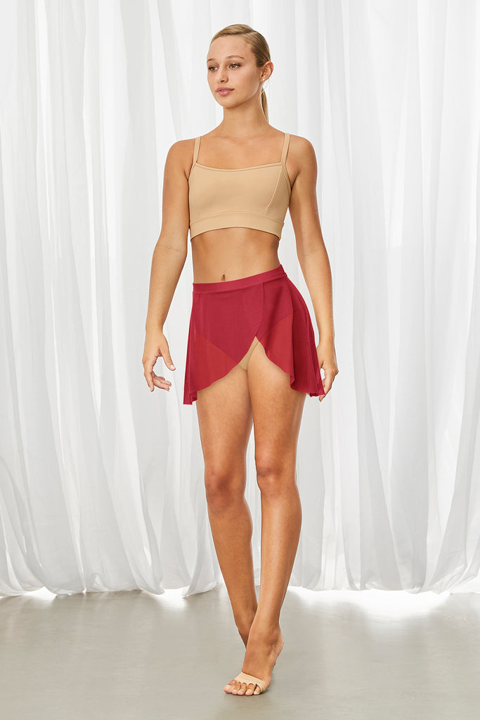Ladies Jaylyn Wrap Front Skirt