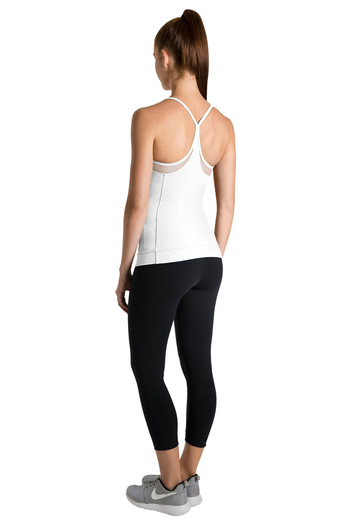 Ladies Mesh Panel Active Top