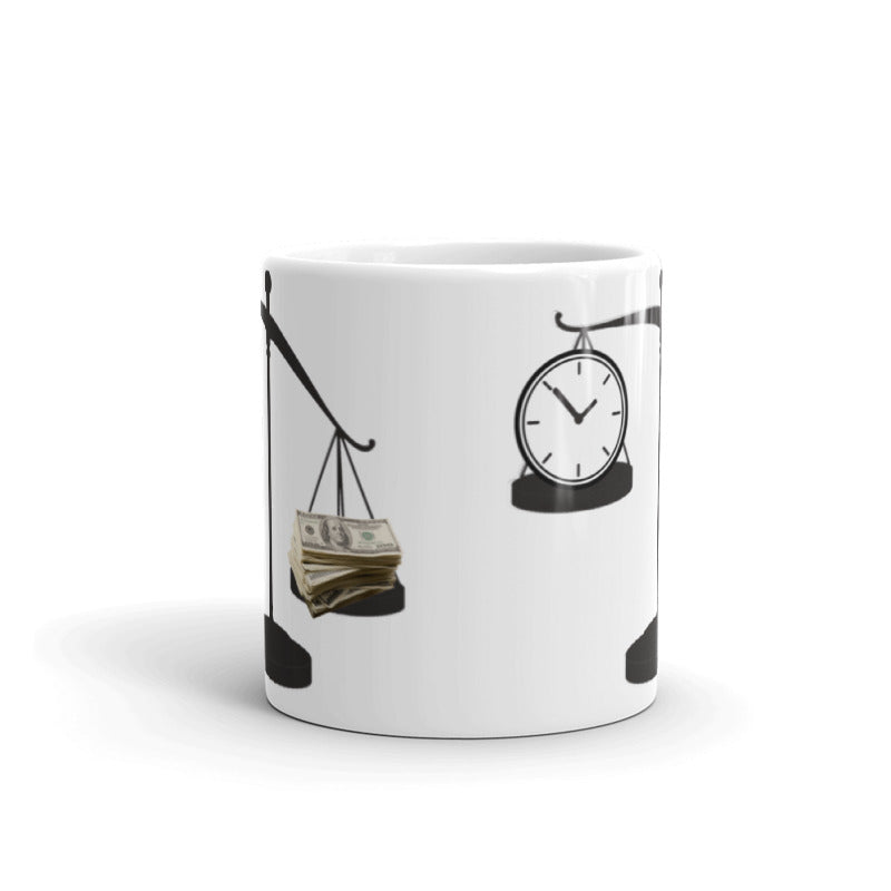 Time Over Money Mug