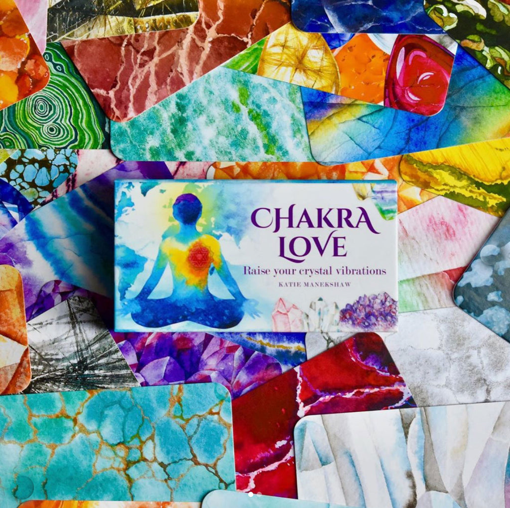 Chakra Love Mini Card Deck & FREE CRYSTAL CHART