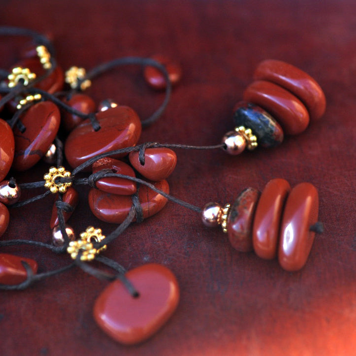 Red Jasper Grounding Necklace