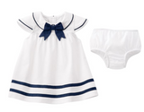 Nautical Sailor Infant Dress
