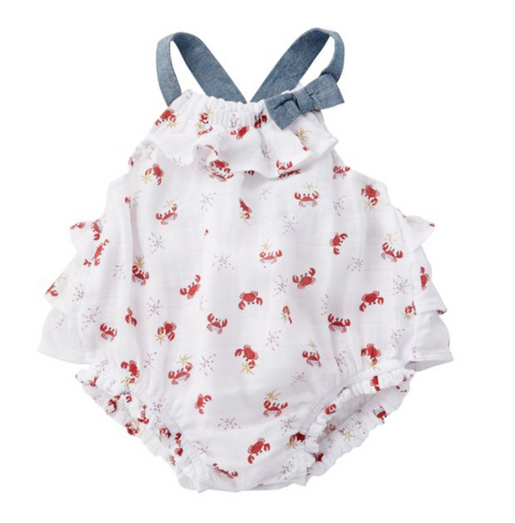 Crab Bubble Infant Onesie