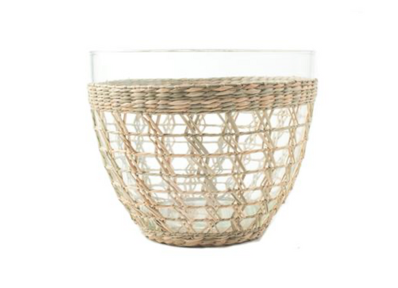 Large Seagrass Cage Salad Bowl