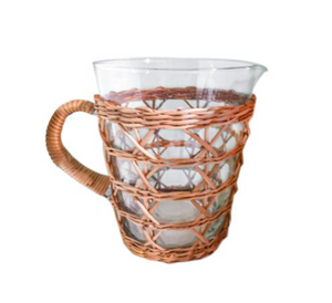 Rattan Cage Pitcher