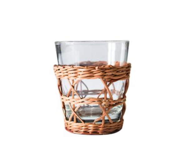 Rattan Wide Cage Tumbler