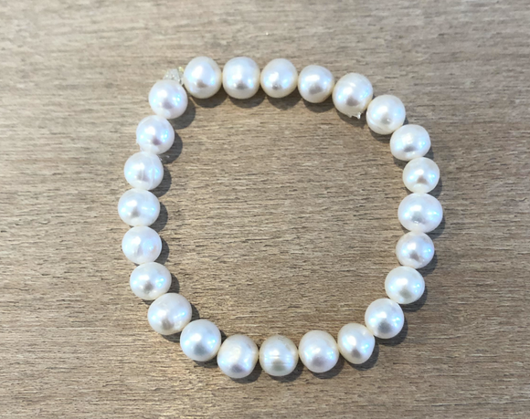 Fresh Water Pearl Small Stretch Bracelet
