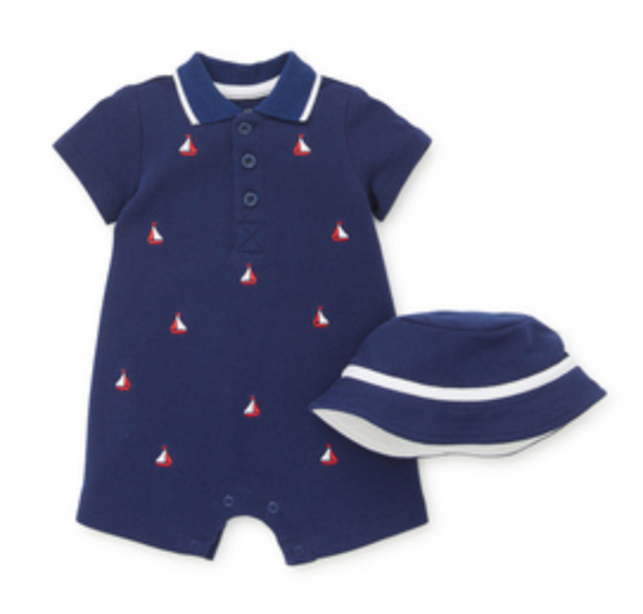 Sailboat Romper Infant Onesie