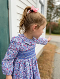 Liberty Print Toddler Dress