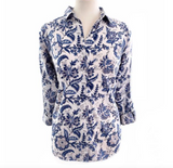 Block Print Ladies Shirt