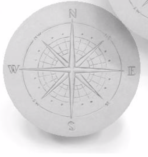 Compass Drink Coaster